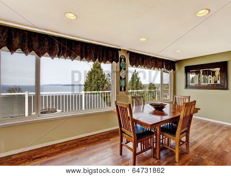Dining Area With Window View