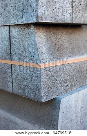 Stack Of Concrete Blocks