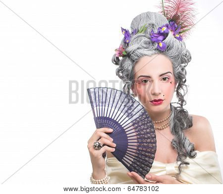 Victotian lady.