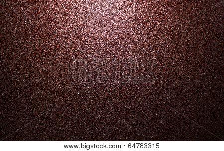 Brown metal