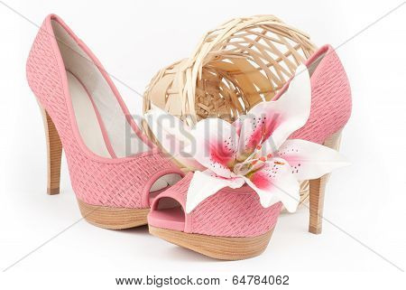 Pair Of Pink Shoes