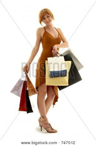 Shopping Redhead