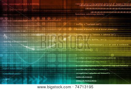 Data Analysis Process Concept as a Art poster