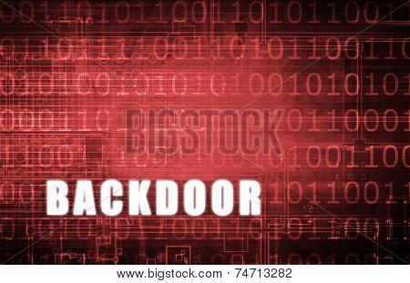 Backdoor on a Digital Binary Warning Abstract