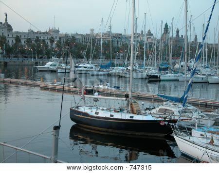 Boats Barcelona