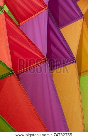 Colorful Kites Flying In The Sky