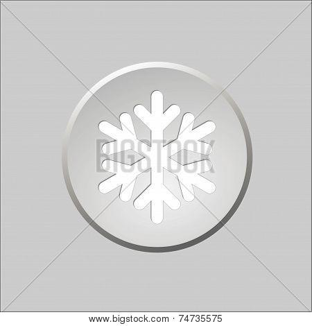 Snow Button