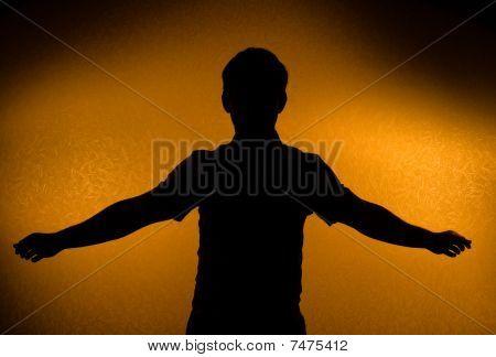 Breakthrough - Male Silhouette