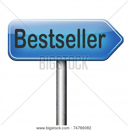 poster of bestseller top product, most wanted item best selling book and most popular item