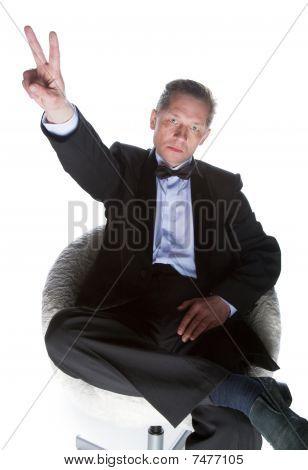 A Man In A Tuxedo