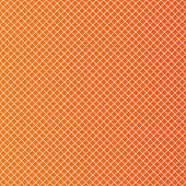 Rhombus cell sheet pattern background. Abstract grid wallpaper. Orange background. Vector poster