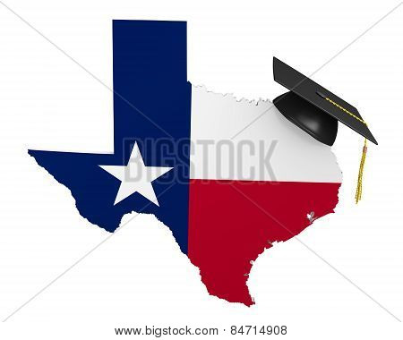 Texas state college and university education