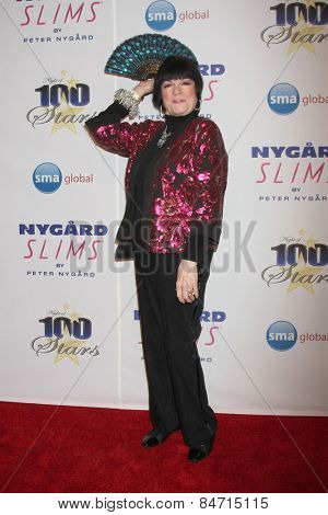 LOS ANGELES - FEB 22:  Jo Anne Worley at the Night of 100 Stars Oscar Viewing Party at the Beverly Hilton Hotel on February 22, 2015 in Beverly Hills, CA