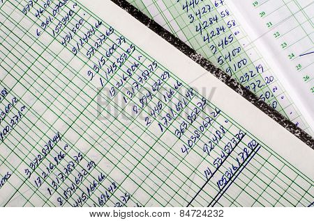 Handwritten Accounting