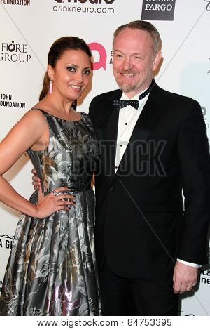 LOS ANGELES - FEB 22:  Jared Harris at the Elton John Oscar Party 2015 at the City Of West Hollywood Park on February 22, 2015 in West Hollywood, CA