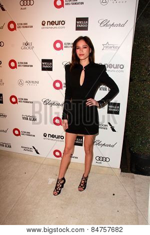 LOS ANGELES - FEB 22:  Kelsey Chow at the Elton John Oscar Party 2015 at the City Of West Hollywood Park on February 22, 2015 in West Hollywood, CA