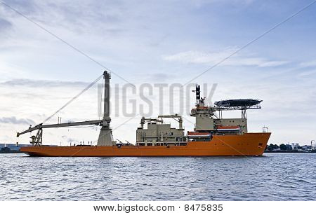 Diving Support Vessel
