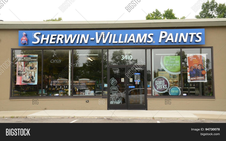 sherwin williams store image photo bigstock