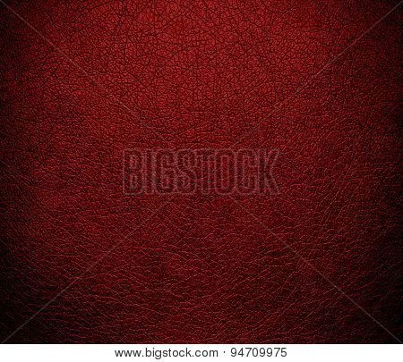 Deep maroon leather texture background