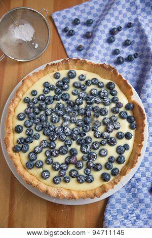 Blueberry Vanilla Tarte