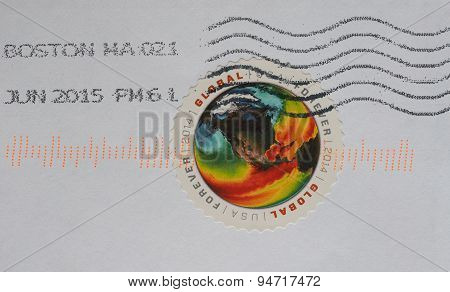 United States Mail Stamp