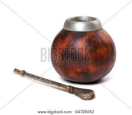 Calabash Gourd And Bombilla