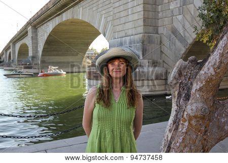 A Woman At London Bridge, Lake Havasu City