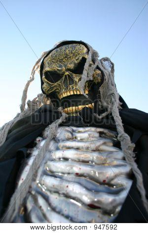 Creepy Skeleton