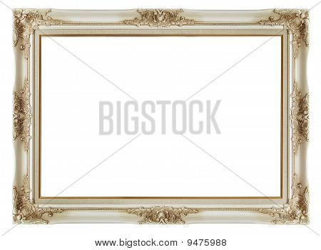 Vintage Frame On White Background