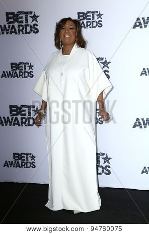 LOS ANGELES - JUN 28:  Patti Labelle at the 2015 BET Awards - Press Room at the Microsoft Theater on June 28, 2015 in Los Angeles, CA