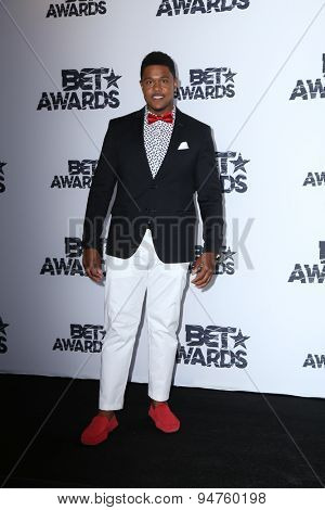 LOS ANGELES - JUN 28:  Pooch Hall at the 2015 BET Awards - Press Room at the Microsoft Theater on June 28, 2015 in Los Angeles, CA