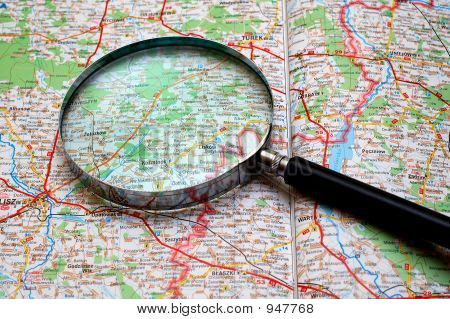 Searching On A Map