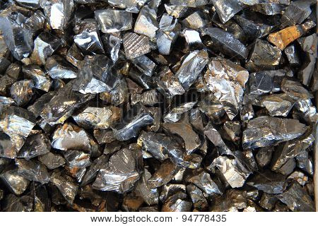Hematite Mineral Background