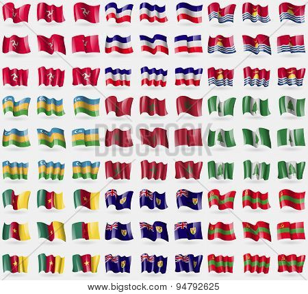 Isle Of Man, Los Altos, Kiribati, Karakalpakstan, Morocco, Norfolk Islands, Cameroon, Turks And Caic