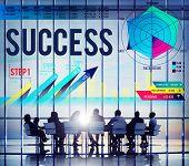 Success Successful Goal Achievement Complete Concept poster