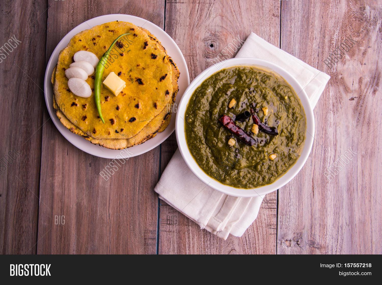 Makki di roti sarson image photo free trial bigstock makki di roti and sarson ka saag famous north indian food forumfinder Choice Image