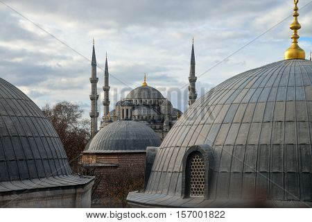 The Blue Mosque - Sultanahmet Camii , Istanbul Turkey
