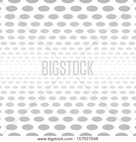 Pale seamless 3d circle background design vector