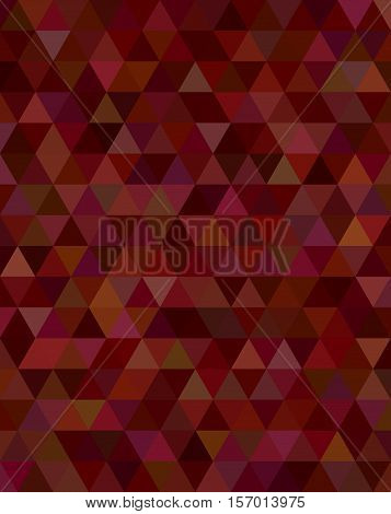 Abstract triangle tile mosaic pattern background design