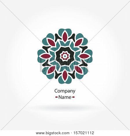 Beautiful circular logos. Simple geometric logos. Company logo, mark, emblem, element. Simple geometric logo. Mandala logo. Icons, business, invitations. Vintage. Islam, Arabic, Indian, ottoman.