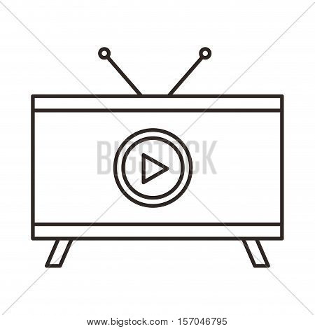 video player isolated icon vector illustration design