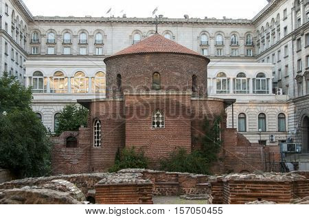 Rotunda Sveti Georgi In Sofia, Bulgaria
