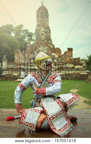 Hanuman character in literature ramayana story of india cambodia and thai.