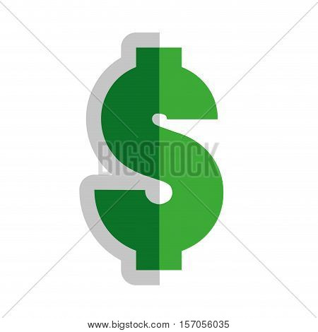 money symbol isolated icon vector illustration design