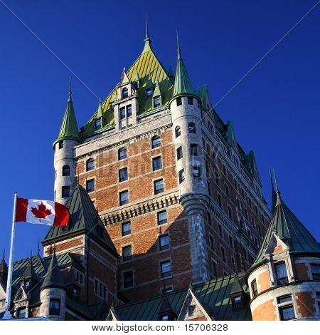 Quebec City most famous landmark, Chateau Frontenac