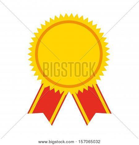 medal price winner award vector illustration design