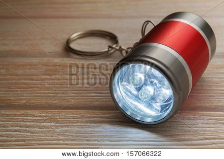 Led Flashlight Keychain.