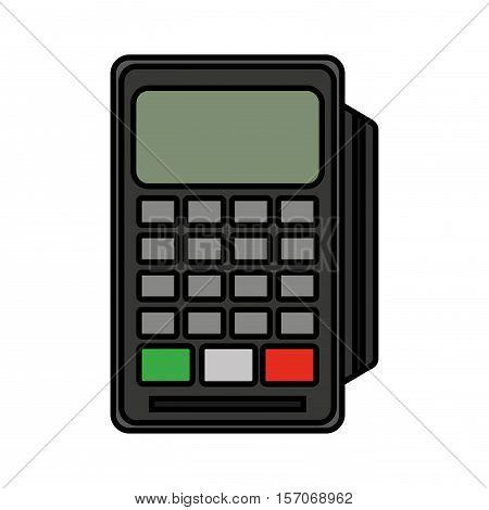 voucher machine isolated icon vector illustration design