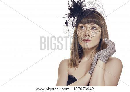Thoughtful Beautiful Young Woman