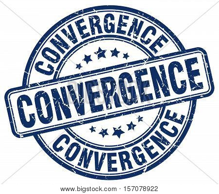 convergence. stamp. square. grunge. vintage. isolated. sign